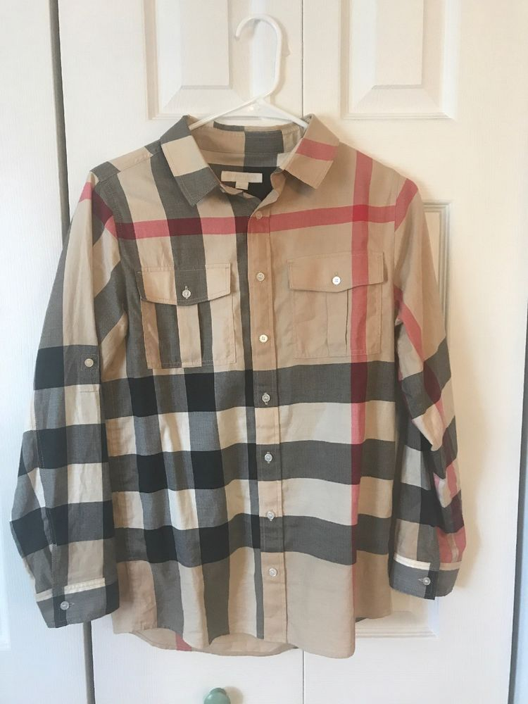 cb4865b9761aa Pre-owned Burberry Kid Shirt Size 14Y #fashion #clothing #shoes  #accessories #kidsclothingshoesaccs #boysclothingsizes4up (ebay link)