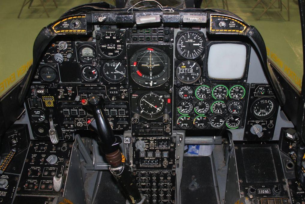 A 10 Cockpit Cockpit Aircraft Fighter Aircraft