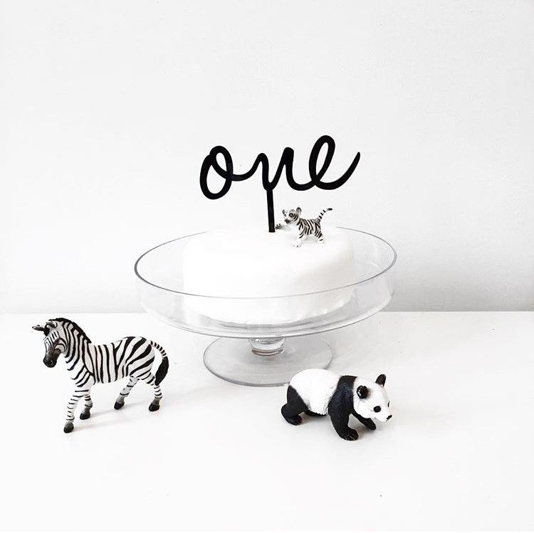 Monochrome First Birthday Party styled by Being Mummy XO featured