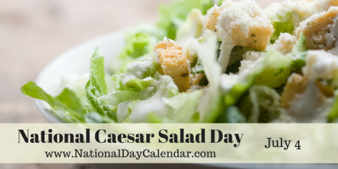July 4 National Caesar Salad Day Caesar Salad Caesar Salad Dressing Recipe Classic Caesar Salad