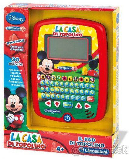 Detský tablet Mickey Mouse s 22 aktivitami v slovenčine - 1