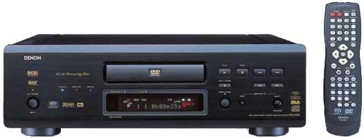 Denon DVD-5900 Universal DVD Player First Look