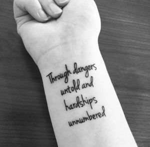 52 Powerful Quote Tattoos Everyone Should Read Inked Labyrinth