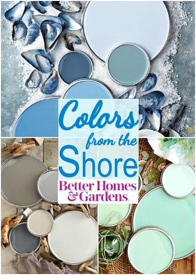 Photo of Coastal Seaside Color Schemes & Paint Color Ideas,  #Coastal #Color #ideas #Paint #PaintColor…