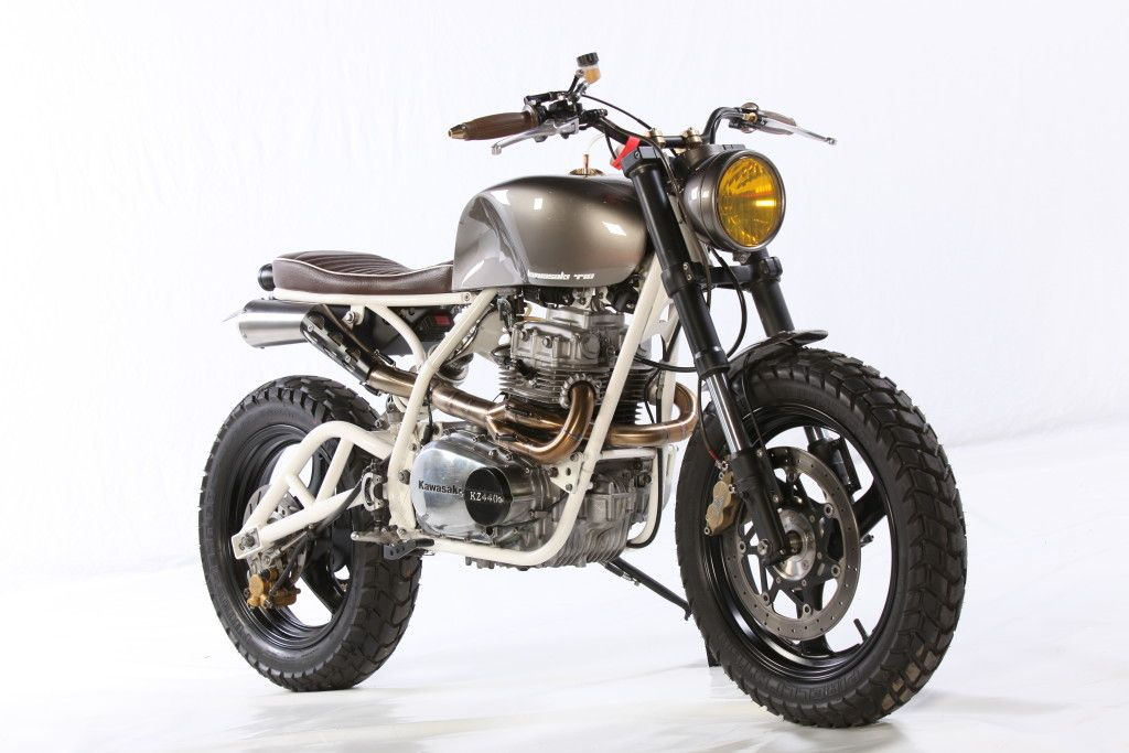 KZ400 Scrambler Bikebound 2015 07 22 Kawasaki Kz440 440