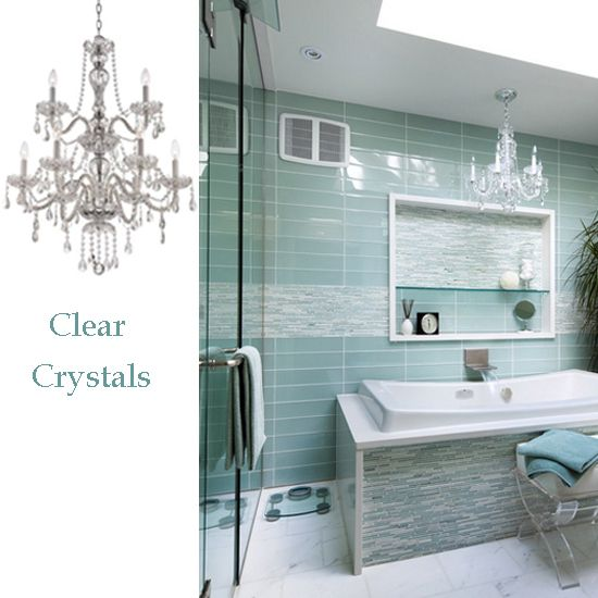 Crystal bathroom lighting fixtures bathroom lighting pinterest crystal bathroom lighting fixtures aloadofball Gallery