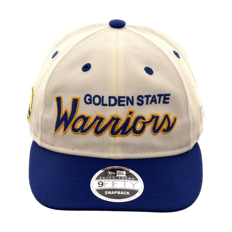 promo code 1cec1 45bdf Warriors x Hat Club x New Era 9Fifty Retro Crown Snapback Hat. New Era  9fifty Golden State ...