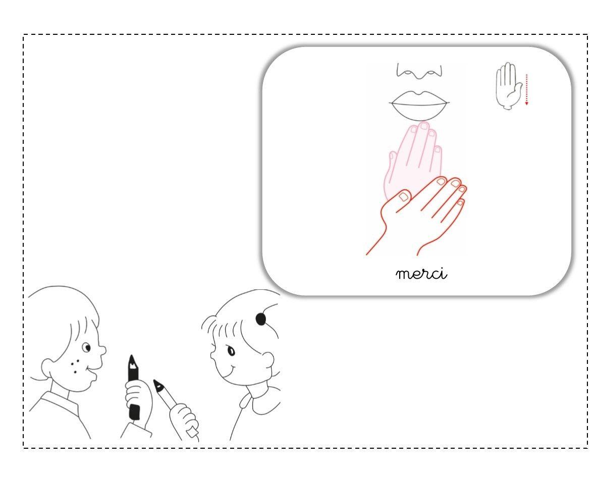 Célèbre merci LSF illustration | Langue des signes | Pinterest | Lsf  ZT46