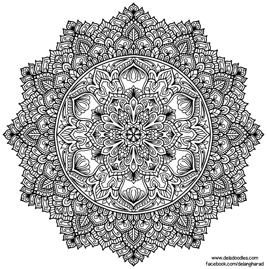 Click The Download Link On The Right To Grab The Full Size File To Print And Colour Support Me On Mandala Coloring Pages Mandala Design Art Mandala Coloring