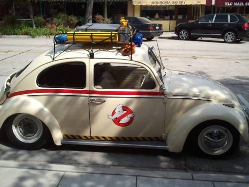 Ghostbusters!!! Other ride must be in the shop...