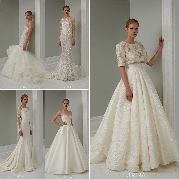 2015 Steven Khalil Wedding Dress Collection | Skirts, Wedding and ...