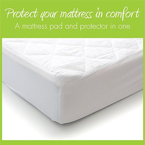 Milliard Quilted Waterproof Crib And Toddler Mattress Protector Pad Premium Hypoallergenic Fitted Cover Toddler Bed Mattress Mattress Pad Mattress