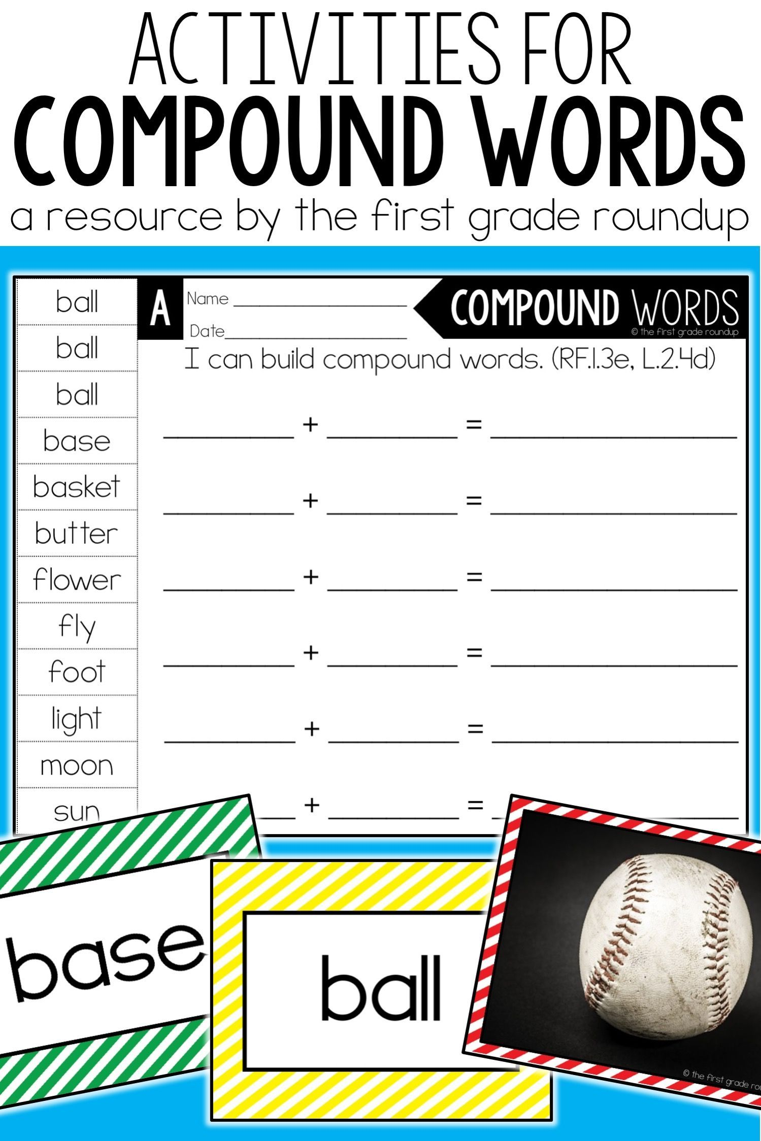 Compound Nouns Print Out A Free Compound Worksheet And Link To Other Noun Resources Compound Words Worksheets Nouns Worksheet Possessive Nouns Worksheets