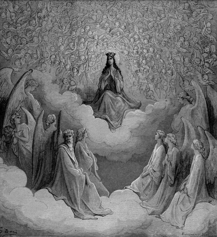 Gustave Dore Illustrations Of Divine Comedy Heaven Ilustraciones Para La Divina Comedia Paraiso La Divina Comedia Dante Divina Comedia Gustave Dore