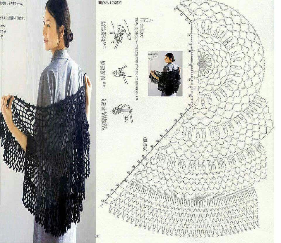 Pin by Nariman Aburish on crochet chal | Pinterest | Crochet