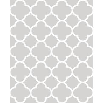 Simpleshapes Brick Fine Fabric Weave Peel And Stick Wallpaper Panel Reviews Wayfair Quatrefoil Wallpaper Geometric Wallpaper Brewster Wallcovering