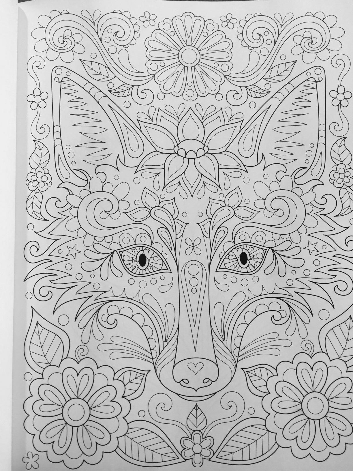 Robot Check Animal Coloring Pages Fox Coloring Page Coloring Pages
