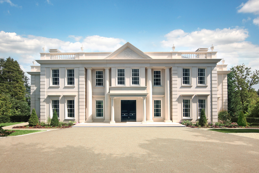 Silverwood House A Newly Built Limestone Mansion In