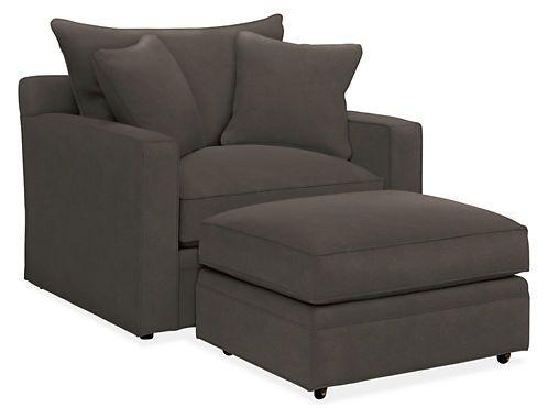 Orson Chair U0026 Ottoman