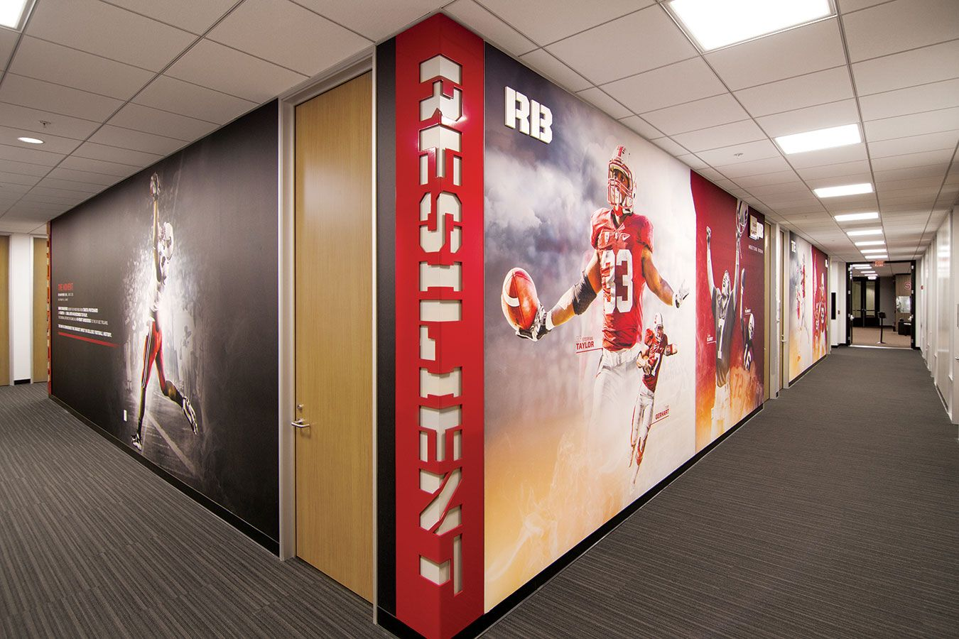 Stanford Football Offices And Locker Room Advent