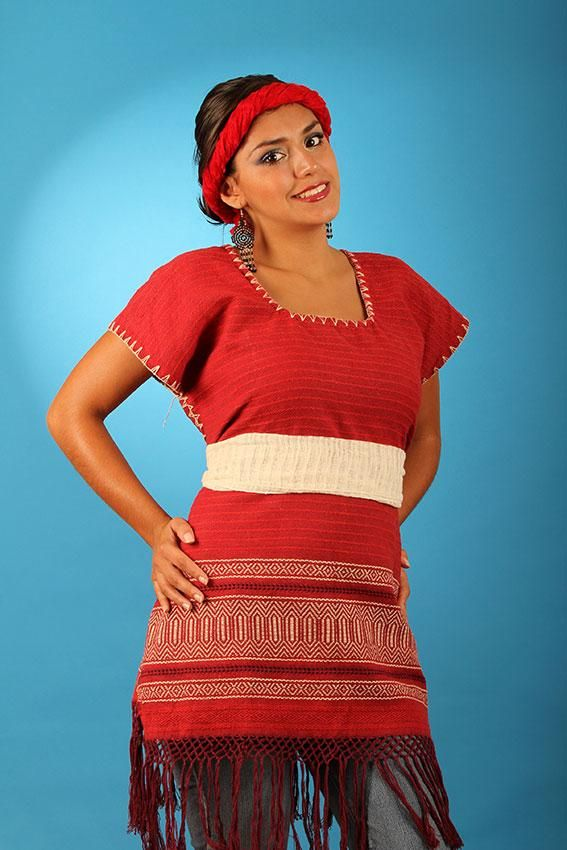 Blusa huipil / Mexican huipil blouse | National Costume | Pinterest