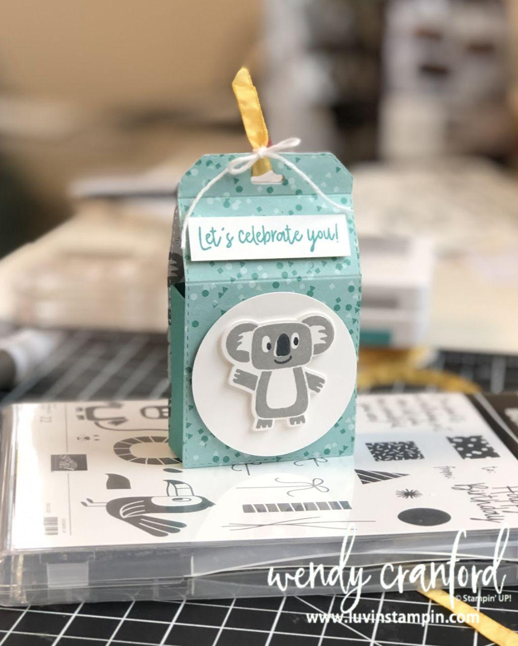 Photo of DIY Candy Geschenkbox mit Stampin 'UP! Bonanaza Buddies Bundle
