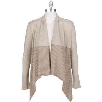 West Kei Texture Knit Cardigan #VonMaur