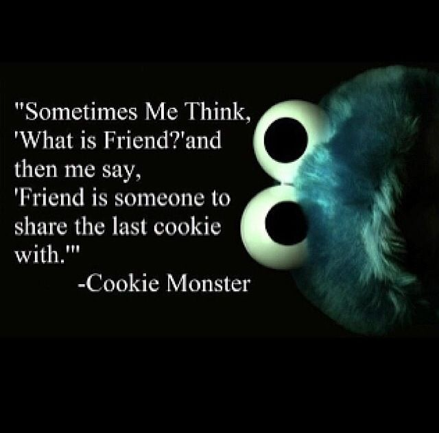Cookie Monster! Gotta love him