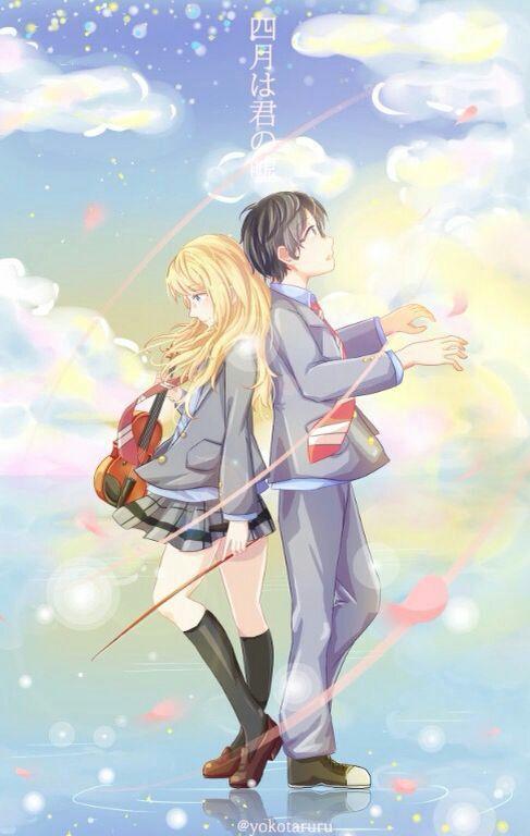 The Wallpaper Of Anime - Shigatsu wa Kimi no Uso