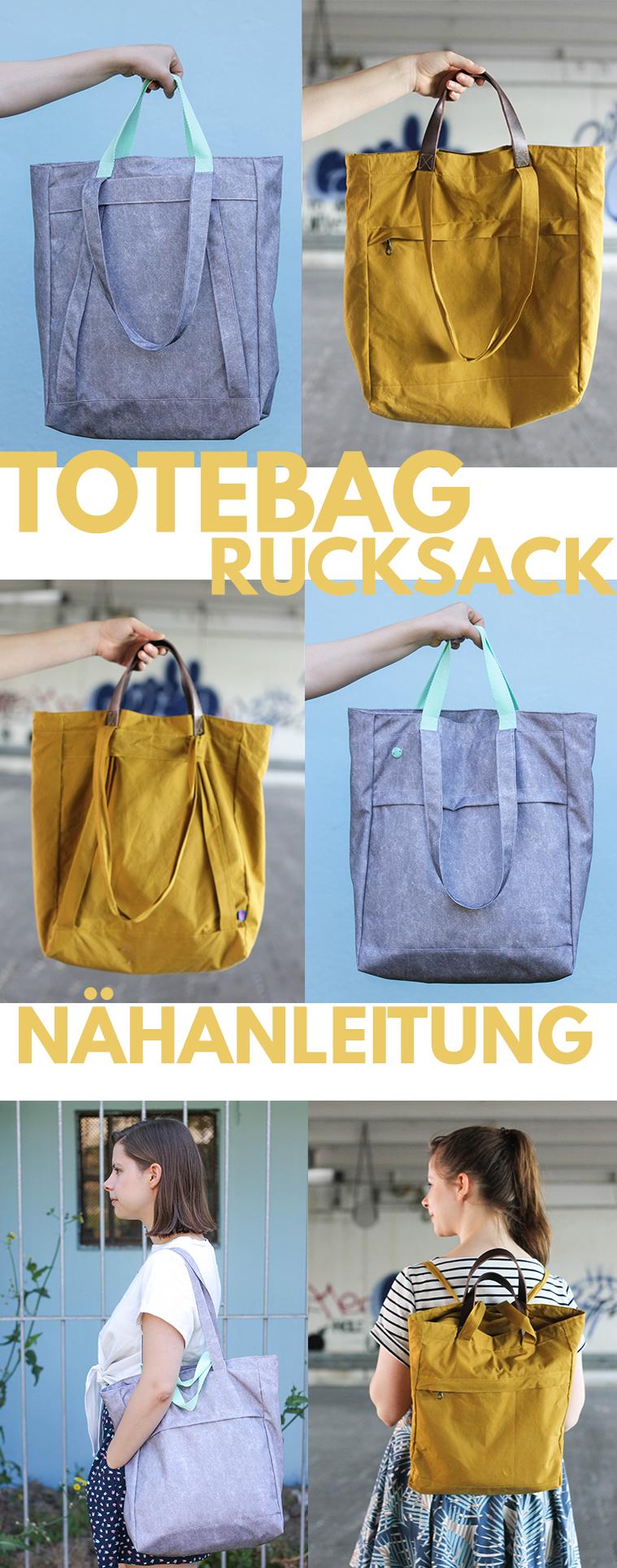 Totebag Tutorial • Zusatz-Tutorial für Rucksacktasche #bag