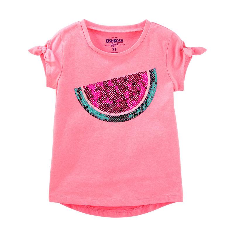 22c7034fd72cec Oshkosh Long Sleeve T-Shirt-Preschool Girls