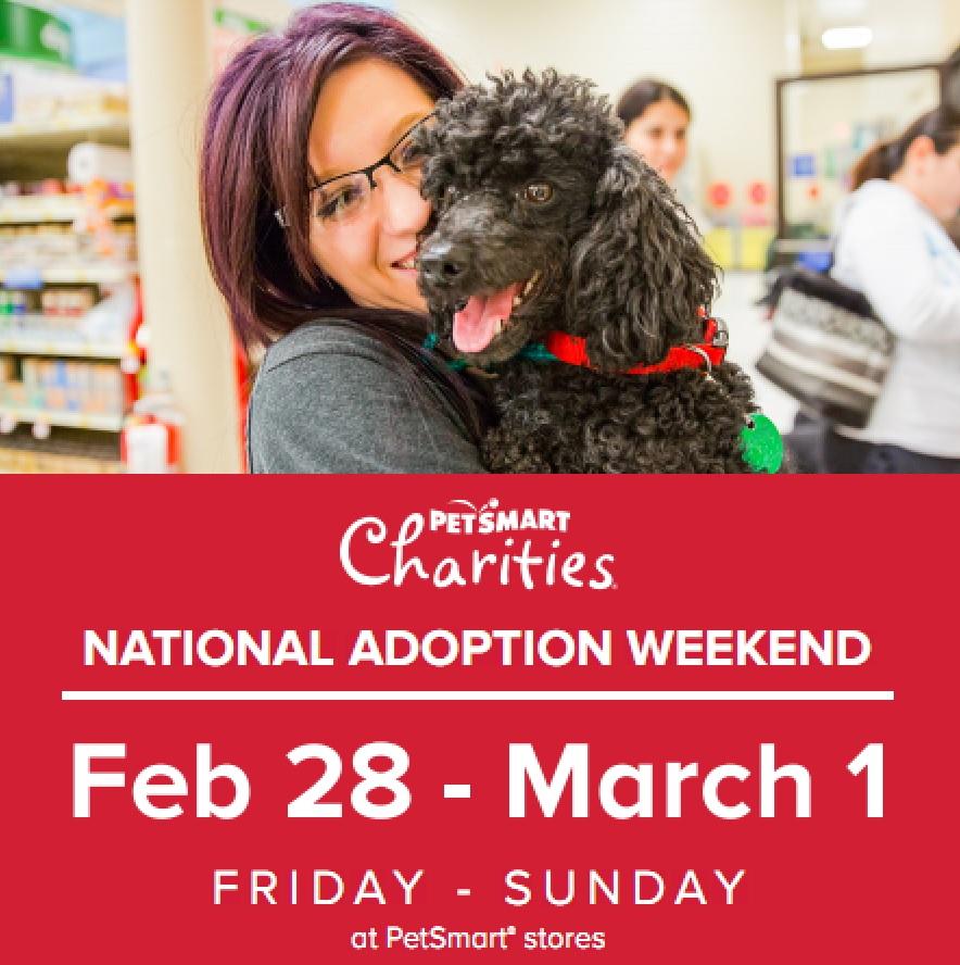 Adopt Your Fur Ever Friend Petsmart Adoption Weekend In 2020 Petsmart Adoption Pet Adoption