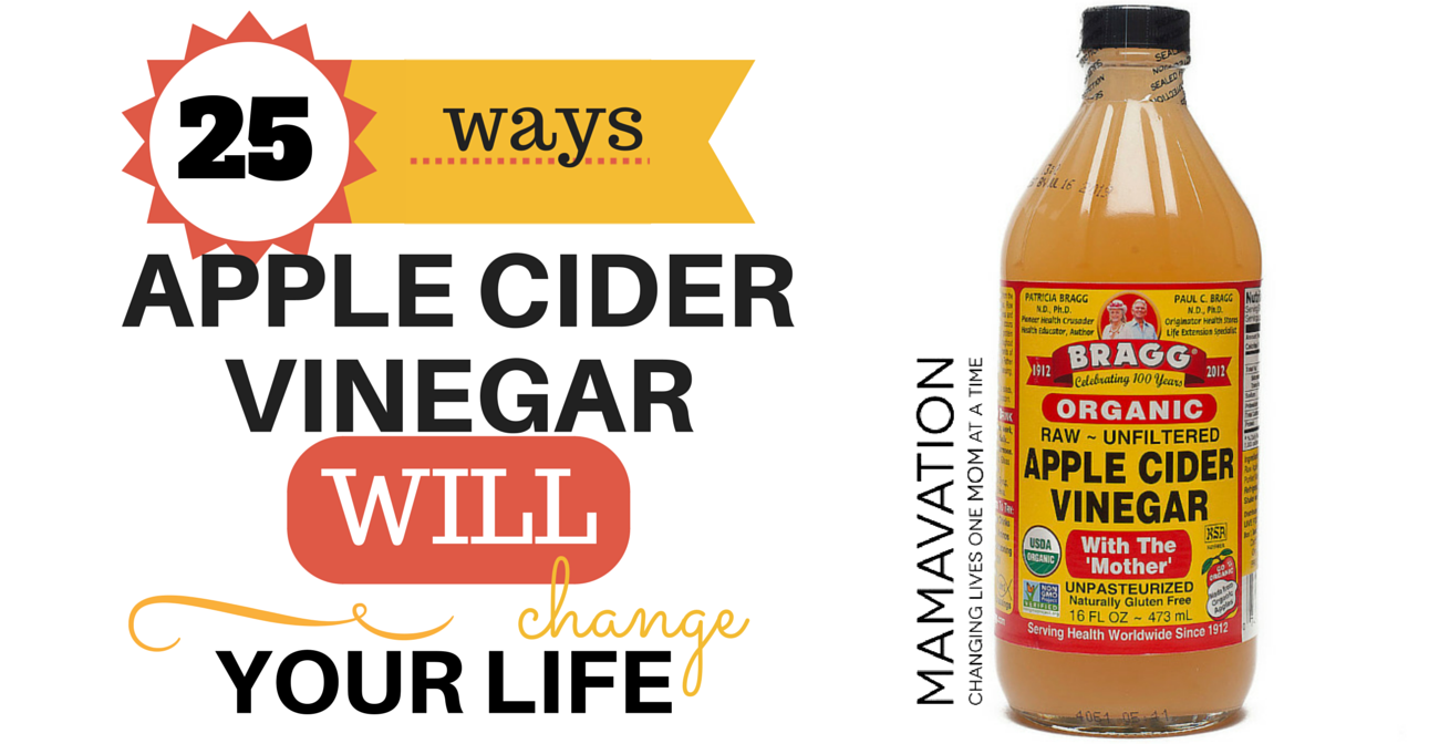 What About Apple Cider Vinegar 25 Life Changing Uses Health And