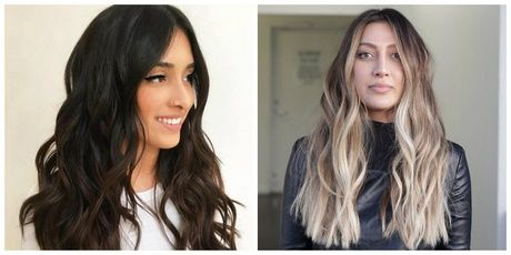 2018 Frisur Für Langes Haar Neu Haare Frisuren Stile 2018