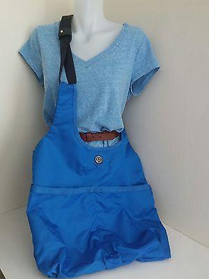 LULULEMON Post Savasana XL Large Blue Nylon Tote Gym Bag Yoga Bag Crossbody