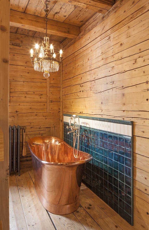 Eine Handwerkliche Meisterleistung Im Nostalgischen Stil Ist Diese Manufakturbadewanne Aus Echtem Kupfe Mit Bildern Traditionelle Bader Badewanne Bad Inspiration