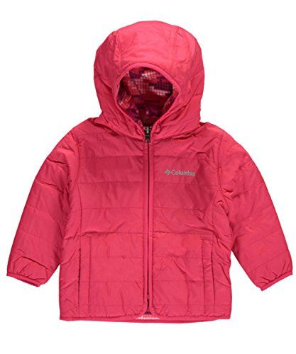 7a1dc29f27c7 Columbia Baby Girls Double Trouble Jacket Punch Pink Dot Print 1218 ...