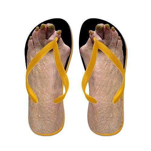 e7b7da3a76259d CafePress Ugly Feet Flip Flops