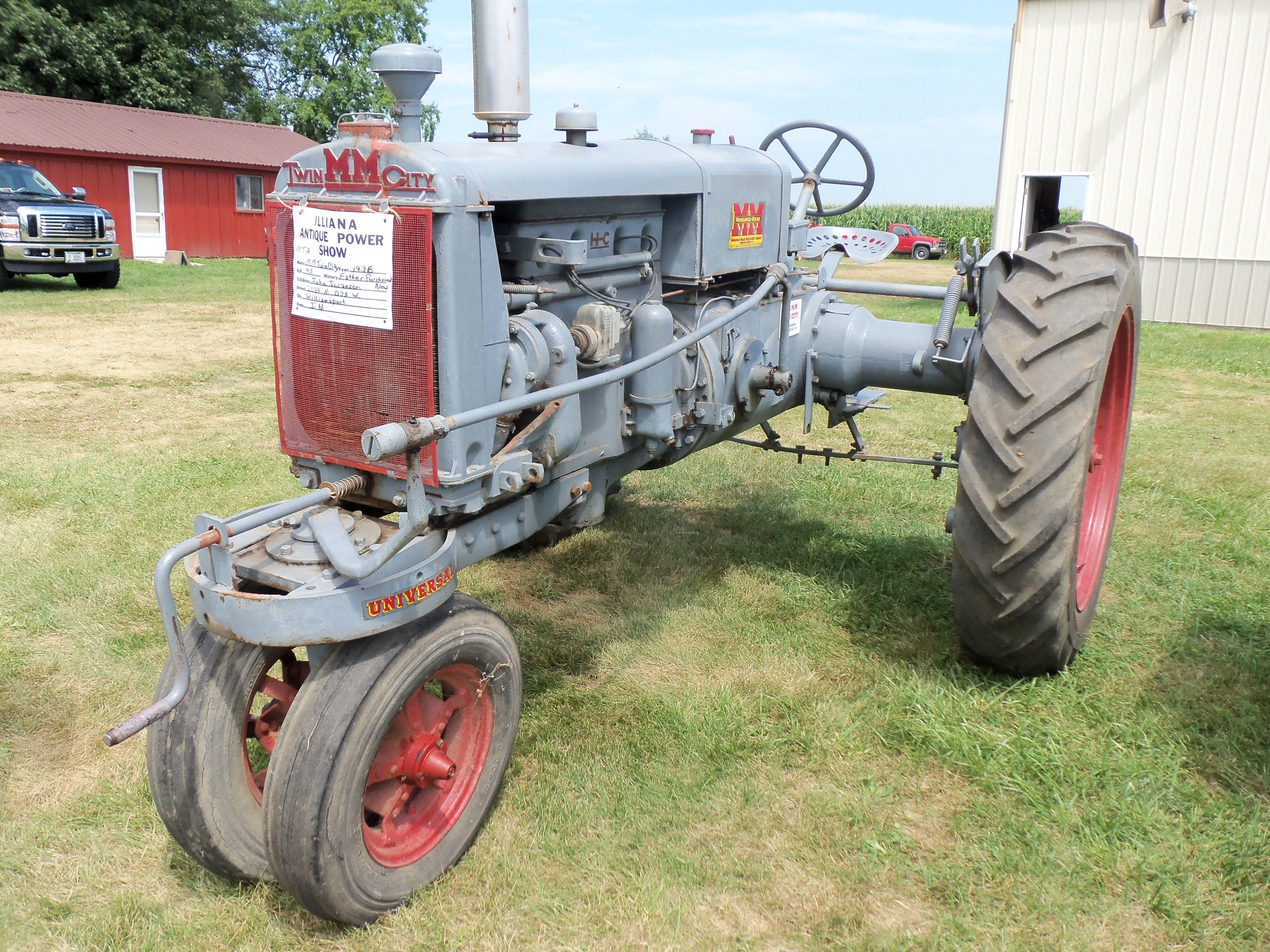 1936 Mm Twin City Vintage Tractors Old Tractors Moline