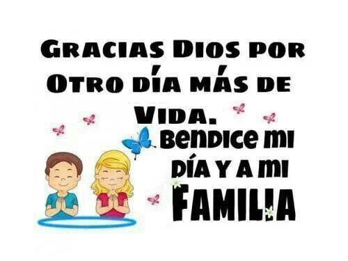 Pase un dia bonito con la familia...gracias Dios