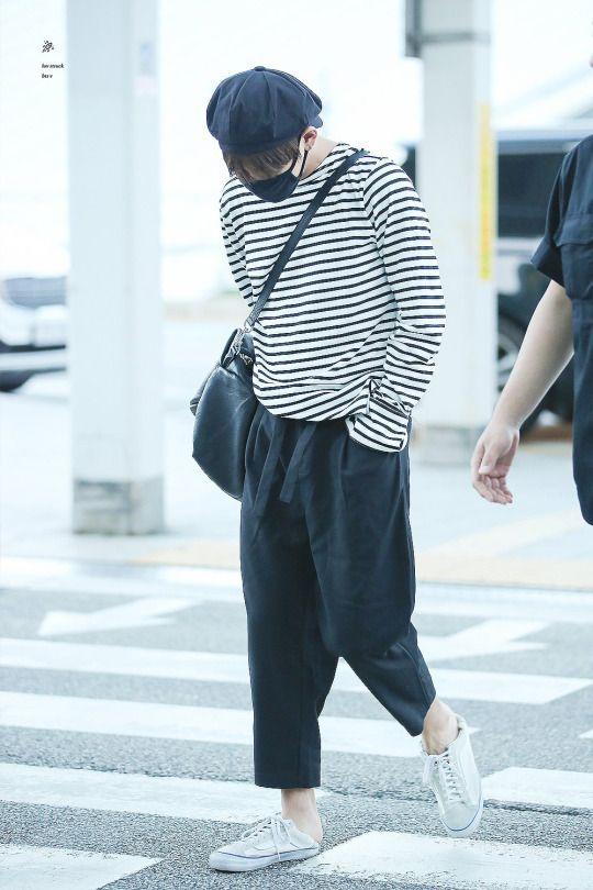 AIRPORT fashion] 160804: BTS V (Kim Taehyung) #bts #bangtan #bangtanboys ...