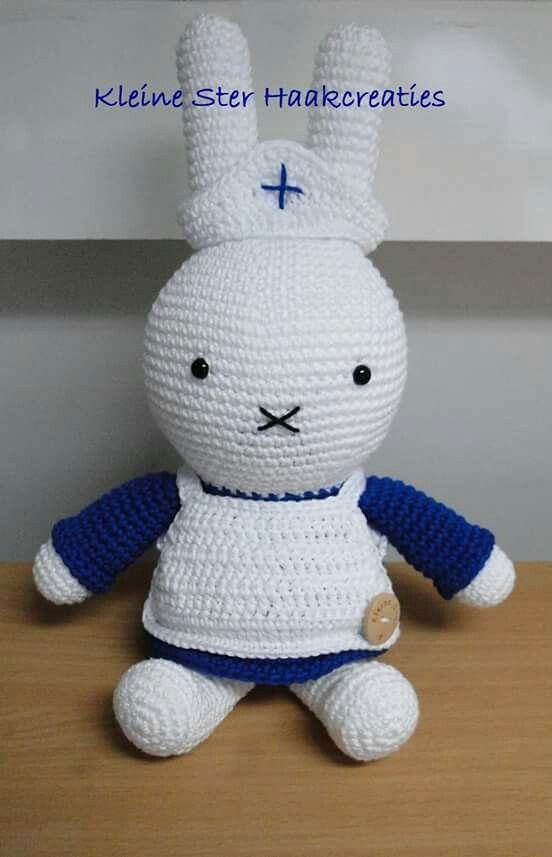 Verpleegster Nijntje Haken Amigurumi Crochet En Crochet Toys