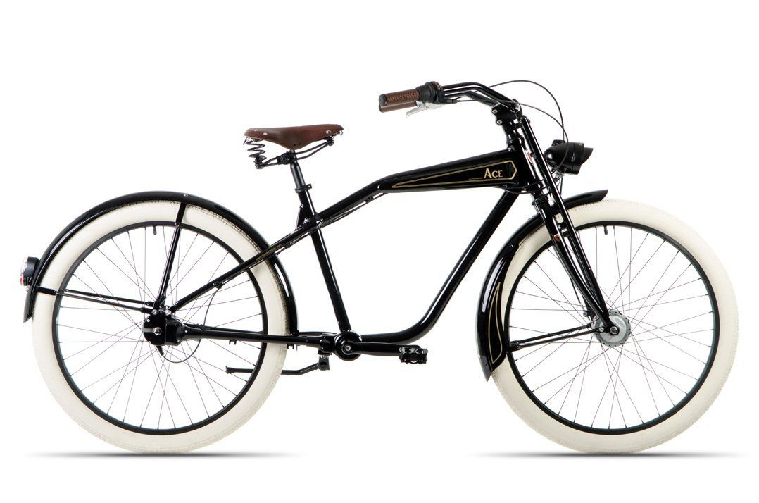hawk bikes ace retrocruiser fahrrad vintage cruiser mit. Black Bedroom Furniture Sets. Home Design Ideas