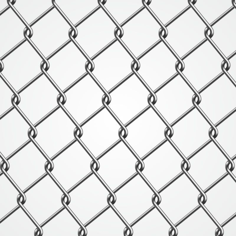 Wire Entanglement Photorealistic Graphic Ai Vector Chain Fence Metal Fence Tattoo Pattern
