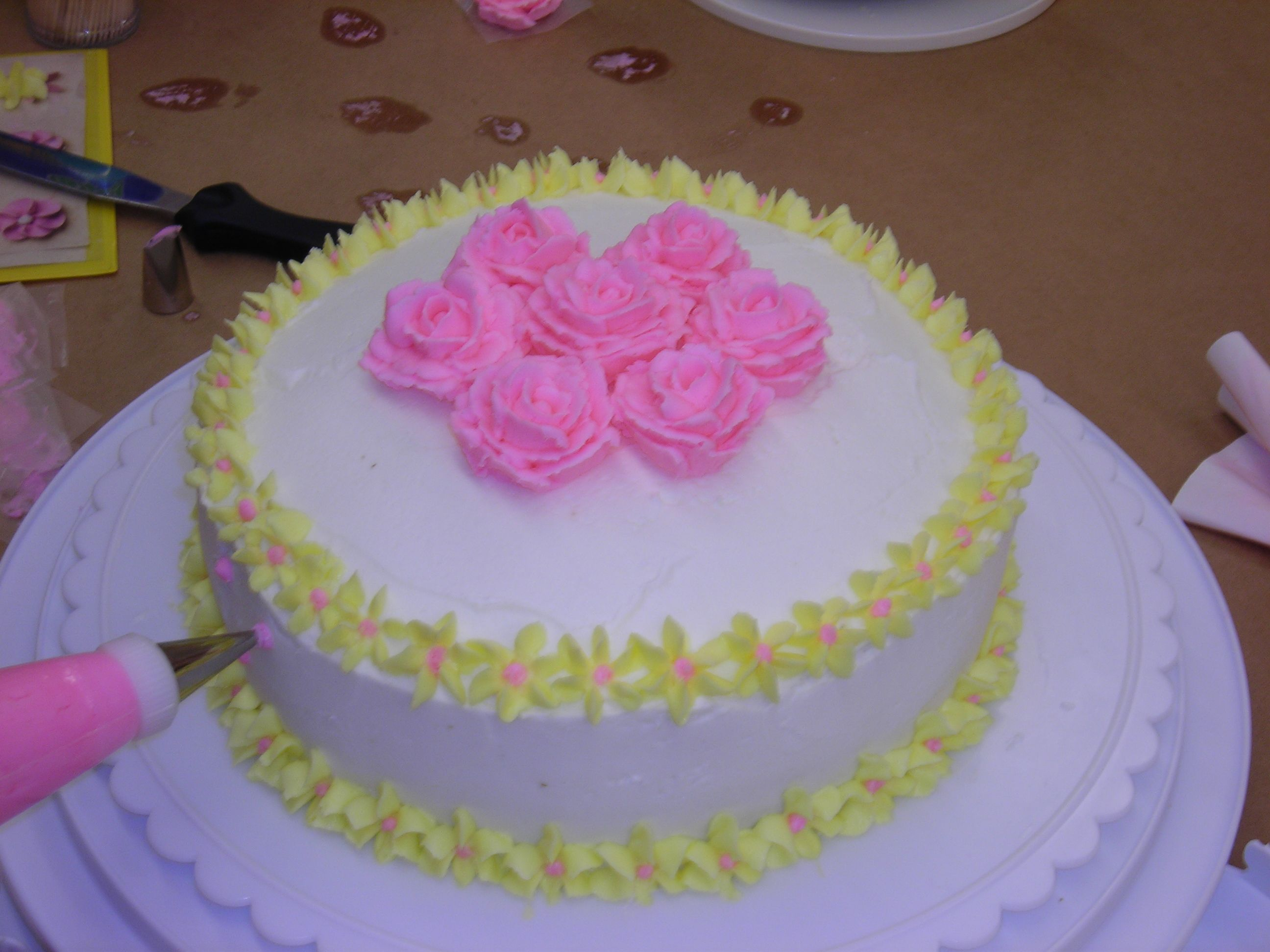 Michaels Cake Decorating Class Sign Up Amazing I Want To Perfect This Must Take Cake Decorating Classes At Design Inspiration
