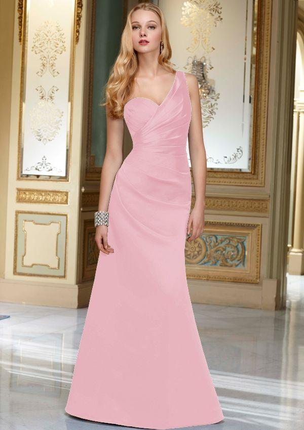 Old Hollywood Glamour Bridesmaid Dress
