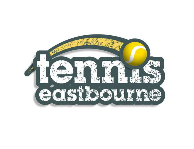 Logo Design Tennis Eastbourne Sports Club Logo Brand Design Sussex Logos Sports Clubs Branding Design Logo