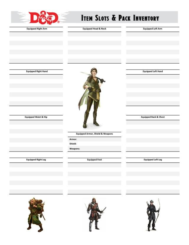Pin On D D Character Sheets