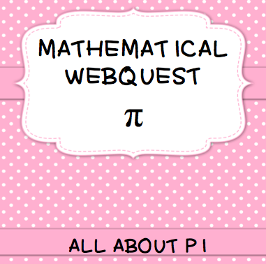 celebrate pi day with this webquest and word search math for