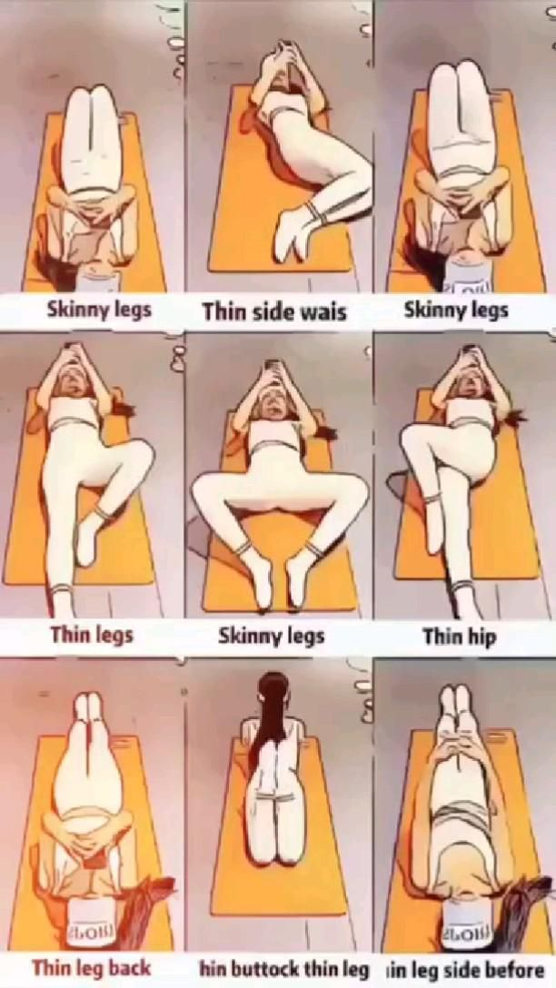 y workout for skinny legs